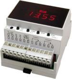 M pH mV controller for DIN rails Mostec d min