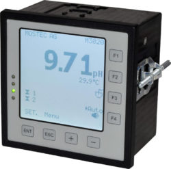 M pH rH mV controller with USB logger Mostec d min