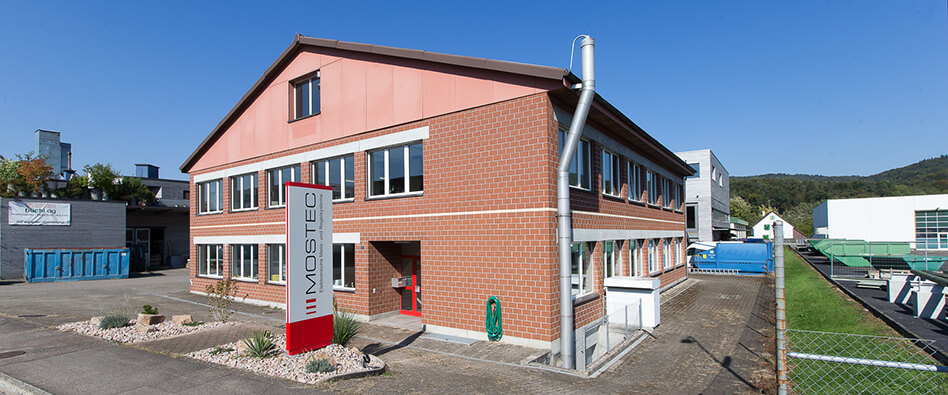 Mostec Hauptsitz