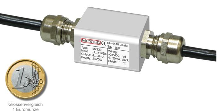 M2920 - Messverstärker für pH und Redox